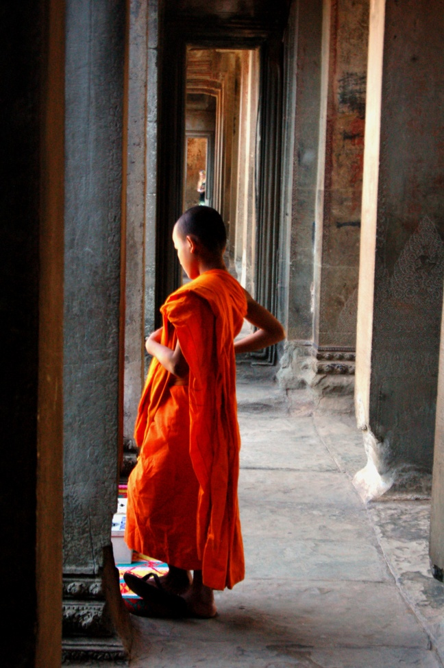Young Monk, Siem Riep, Cambodia