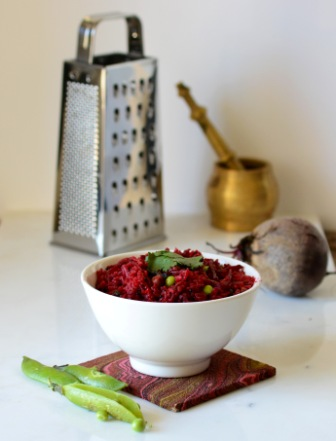 Beetroot Fried Rice 3
