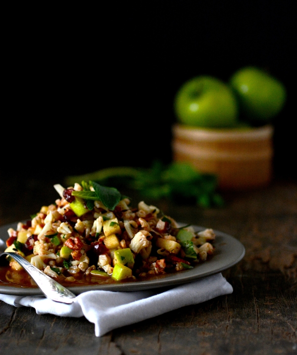 cauliflower apple salad 1