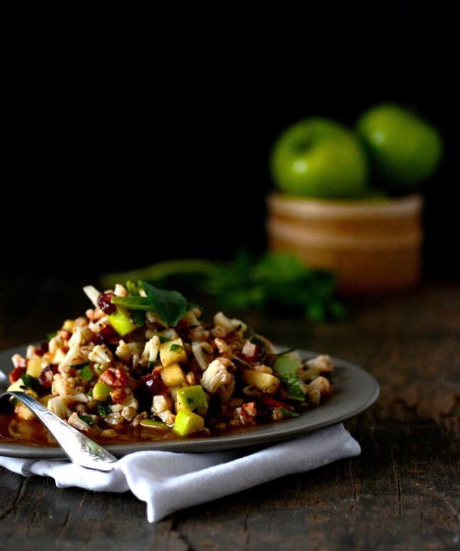 cauliflower apple salad 1