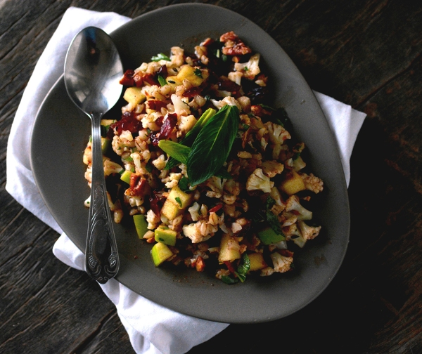 cauliflower apple salad 2