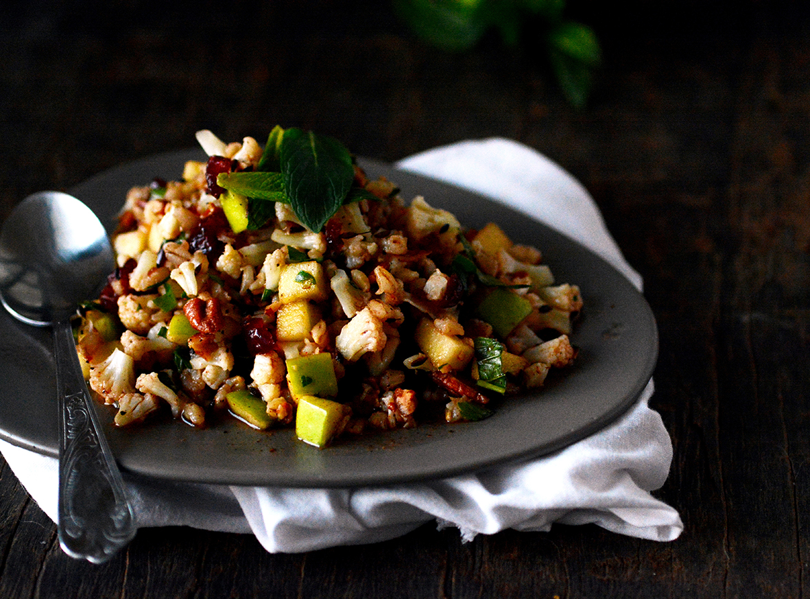 cauliflower apple salad 3