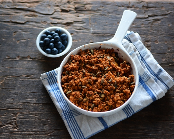 Apple Blueberry Crumble 2
