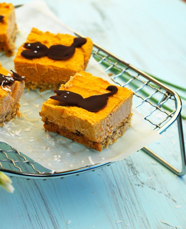 Pumpkin cheesecake bars 2