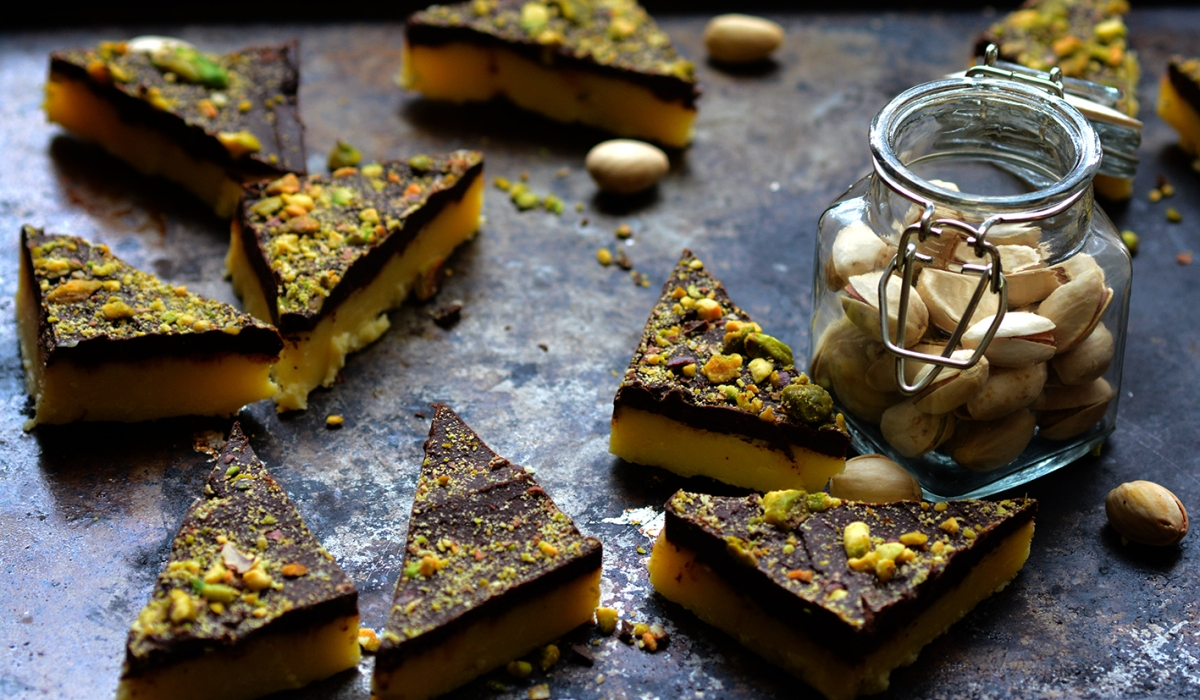 Six Ingredient Microwave Chocolate Burfi (Indian milk ...