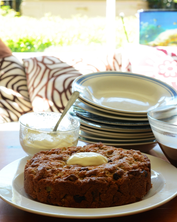 Olive oil Pear cake 2