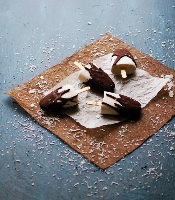 Bounty bar popsicles 3