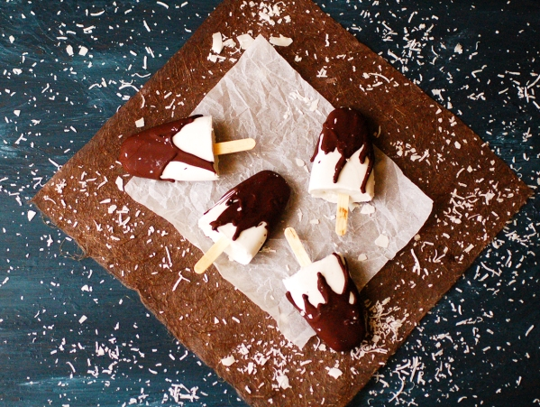 Bounty bar popsicles 4
