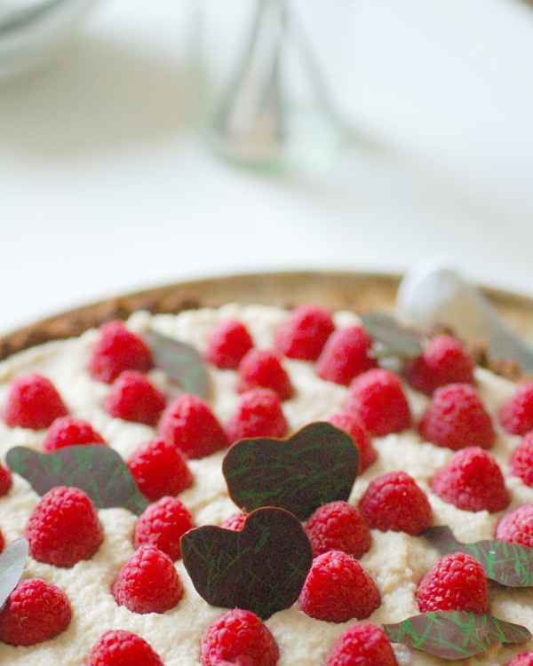 Rose raspberry tart 3