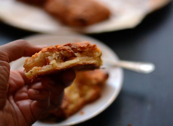 Apple coconut jaggery pies 3