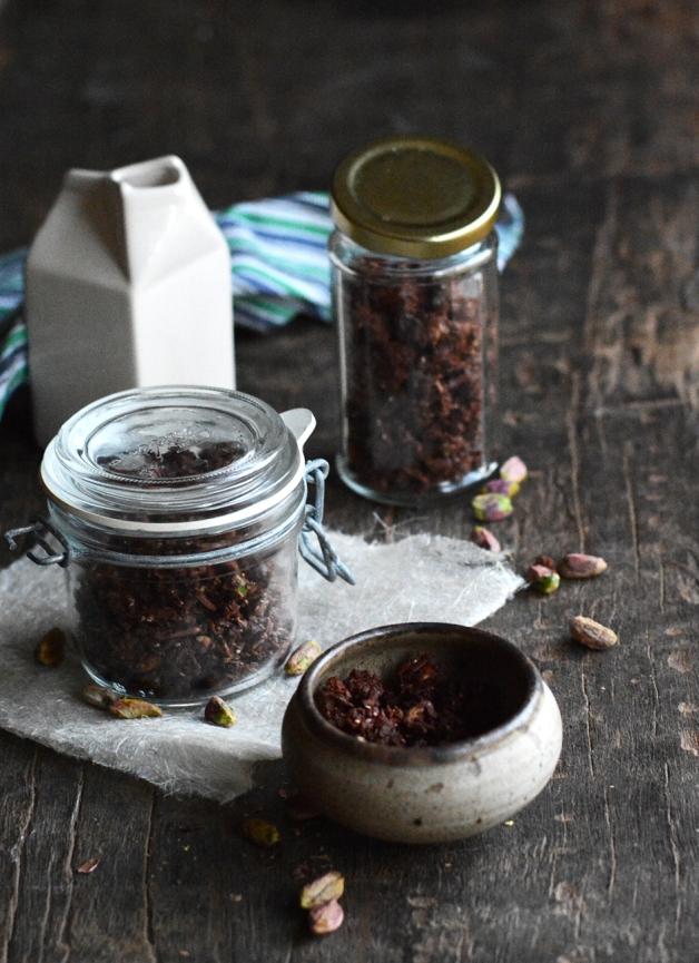 Choc Cranberry Pistachio Granola 3