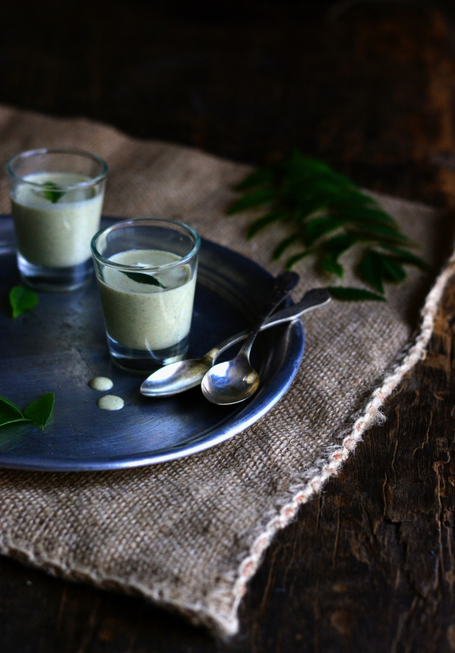 Curry Leaf Coconut Raita 1