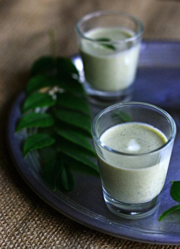 Curry Leaf Coconut Raita 2