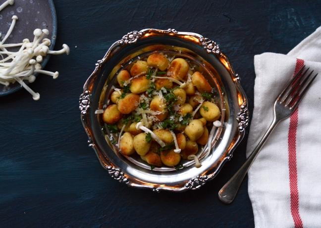 Gnocchi Pan fried 4